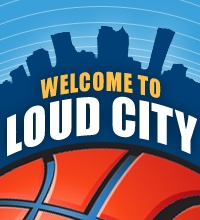 Check out SB Nation's Oklahoma City Thunder blog, Welcome to Loud City.