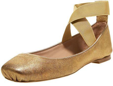 Chloe gold ballerinas, size 38. 200 euros SOLD!