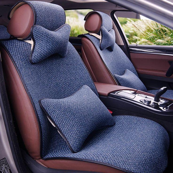 84.00$  Watch now - http://aiqfr.worlditems.win/all/product.php?id=32800076519 - Yuzhe Linen car seat cover For Fiat Viaggio 2015 500 Uno Palio Bravo Siena 126P Idea Sedici Panda accessories styling cushion