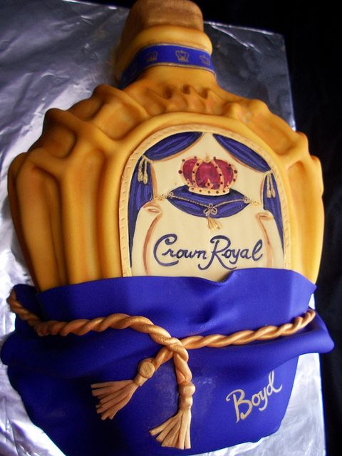 Crown Royal Cake-By The Mad Platters