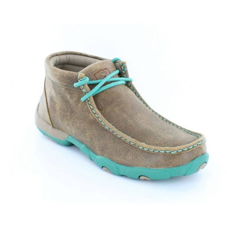Twisted X Ladies Driving Mocs with Turquoise Accents WDM0020 by Twisted X Boots  for $104.99 in Women's Footwear - Footwear : Rural King