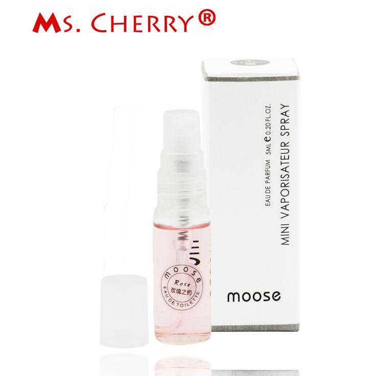 5ml Fresh Rose Sample Size Perfumes and Fragrances for Women Body Spray Fragrance Deodorant femme parfum MH028-10