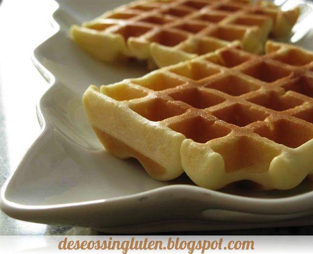 Deseos Sin Gluten: GOFRES SIN GLUTEN