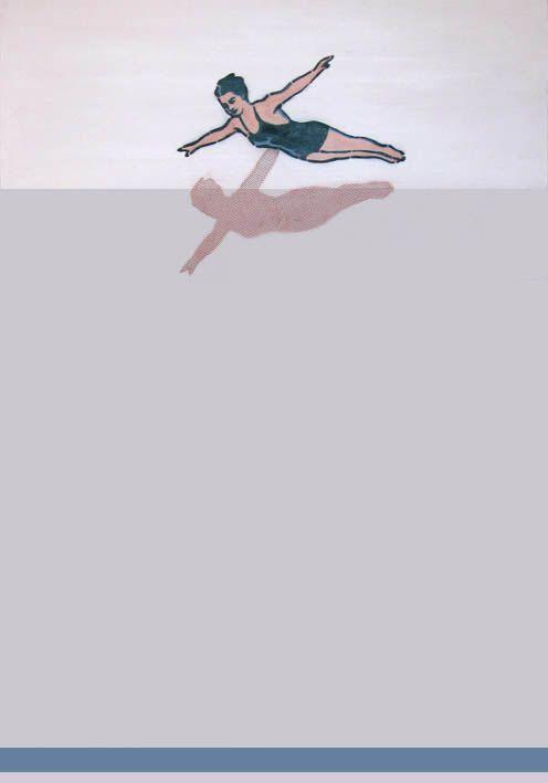 """""""Bessa"""" 70x100cm, akryl na płótnie, 2011r."""