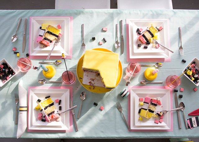 Licorice all sorts party - The House That Lars Built