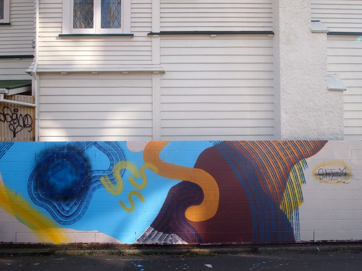 the street art curator OhEni Interview Abstract Colorful
