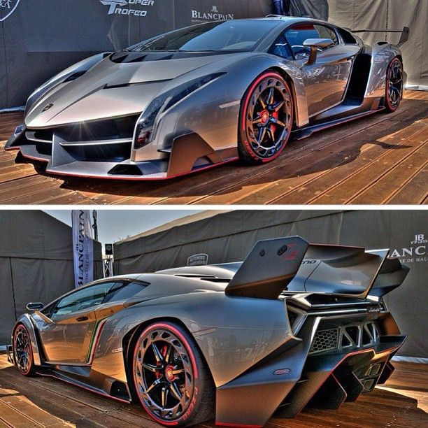 Oh yeh! Luxury life! Lamborghini Veneno - you can buy it for a cool 4.5 million! nothing