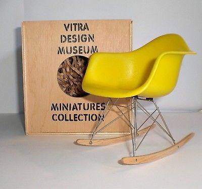 vitra - Miniatur RAR, gelb - Charles u. Ray Eames, 1950