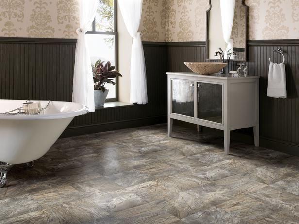 Einfach Installieren Badezimmer Vinyl Bodenbelag Bad Vinyl Bodenbelag Ist Eine Der Flexibelsten Material Badezimmer Vinyl Badezimmer Gunstig Bodenfliesen Bad