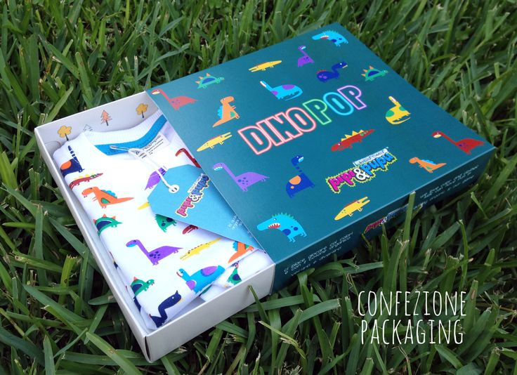 Packaging for DinoPOP collection :) Organic Cotton for kids www.pipipupu.storenvy.com