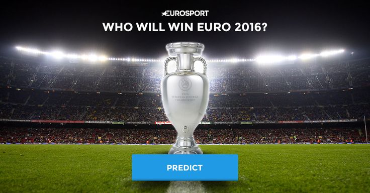 Forecast group results and the tournament winner on www.euro2016.eurosport.co.uk