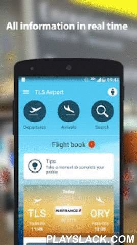 Toulouse-Blagnac Airport  Android App - playslack.com ,  Toulouse-Blagnac Airport brings you its official mobile application.Specially designed to bring more services and autonomy to frequent travellers, it allows you to enjoy a peaceful journey for you or your family when travelling from Toulouse. • All information in real time : stay informed in real time about all news concerning your flight directly via the application or via notifications. Traffic information from your home to the…
