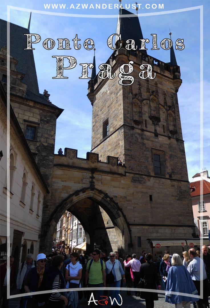 A Ponte Carlos (Karlův most, em tcheco e Charles Bridge, em inglês) – também conhecida como Ponte Charles – é a ponte mais visitada da cidade. Não é para menos! Além de ser a ponte mais velha, é também a que contém 30 estátuas de santos e patronos da época. Confira!