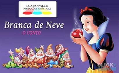 Ingresso para o Espetáculo Branca de Neve no Teatro Santo Agostinho...