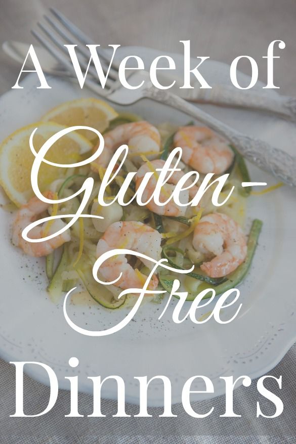 Doing the g-free thing or want to give it a go? We have the gluten-free meal plan for you! #meal planning #free meal plans