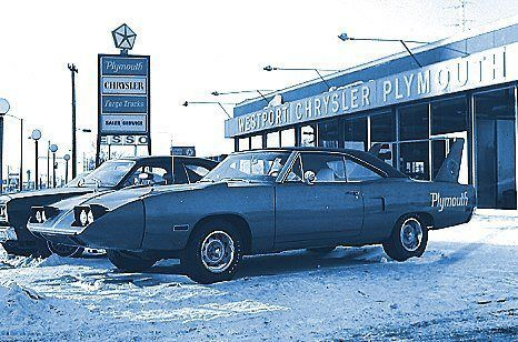 Dodge Dealership snow