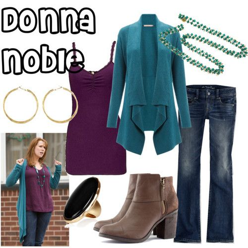 Donna Noble inspired outfit