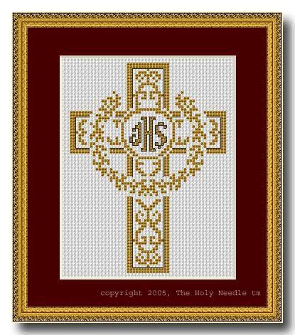 Cross Stitch Pattern - PDF - Lacey Cross : El Camino Real