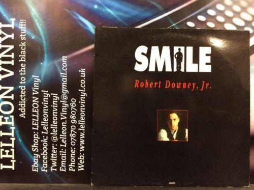 "Robert Downey Jr Smile 12"" Single Vinyl 658905 A1/B1 Film Movie Chaplin 90's Music:Records:12'' Singles:Soundtracks/ Themes"