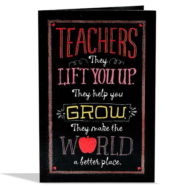 Grateful Teacher Greeting Card Teachers they lift you up they help you grow they make the world a better place. They teach things beyond classrooms things about humility and compassion. They are an example of fairness and honesty and all the good things. They inspire to grow. Dream and discover. you are not just one of them but you are one of the very best.   Rs. 110   Shop Now   https://hallmarkcards.co.in/collections/teachers-day/products/greeting-cards-for-teachers-day