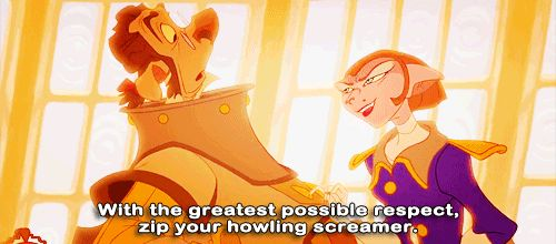 When people keep talking over you during a presentation. | 24 Disney Comebacks For Every Occasion