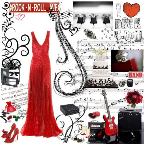 21 best images about prom committee on pinterest wedding red carpets and concert tickets - Rock and roll theme party decorations ...