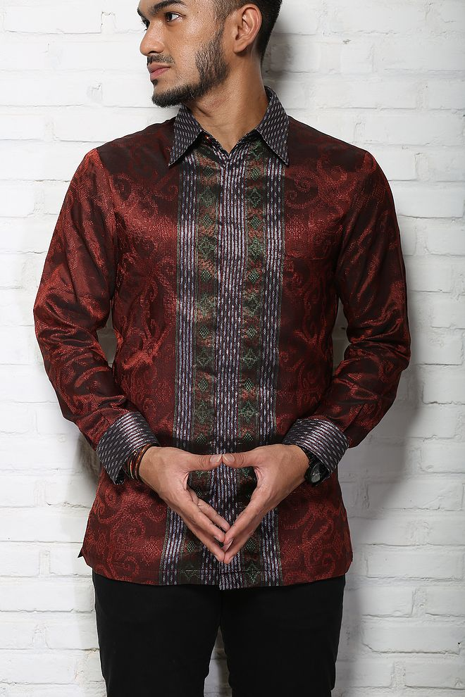Negarawan | Tenun & Batik Pria Modern | No More 'Pak RT' Look With Batik and Tenun