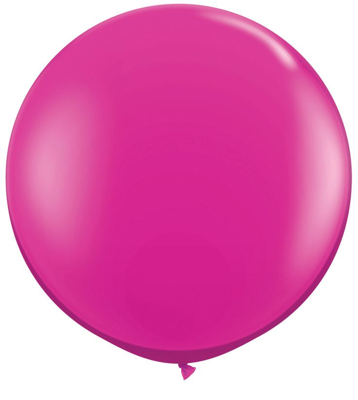 "Giant 36"" Qualatex Magenta Jewel Tone Latex Balloon"