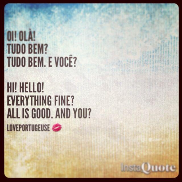 Tudo Bem #Learn #Portuguese #Love #Languages