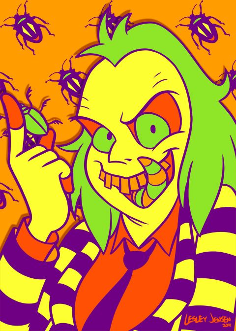 Halloween Palette Beetlejuice by Red-Flare.deviantart.com on @deviantART
