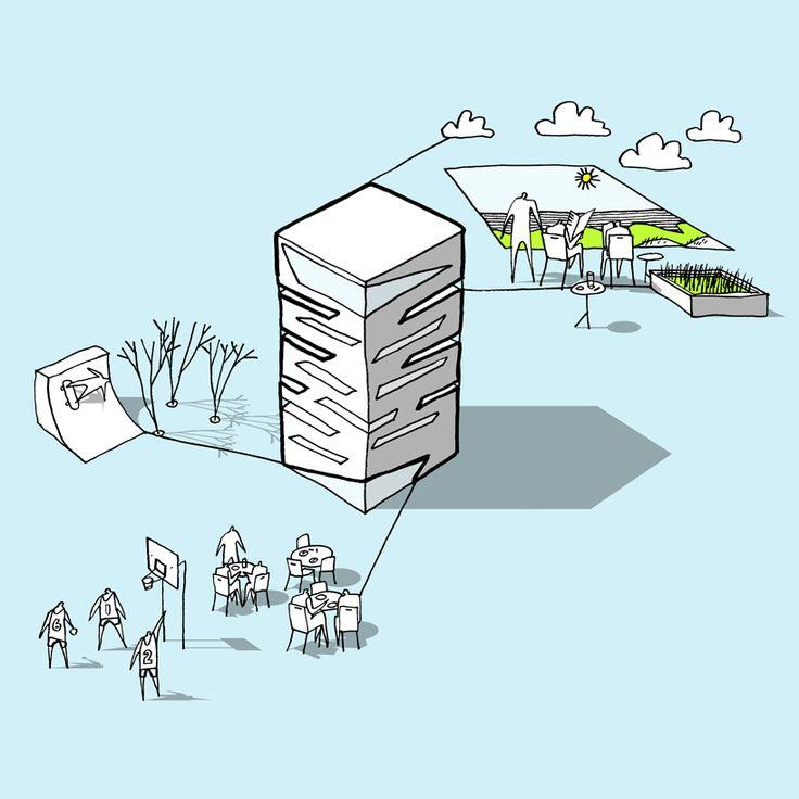 Student Housing Proposal / CEBRA