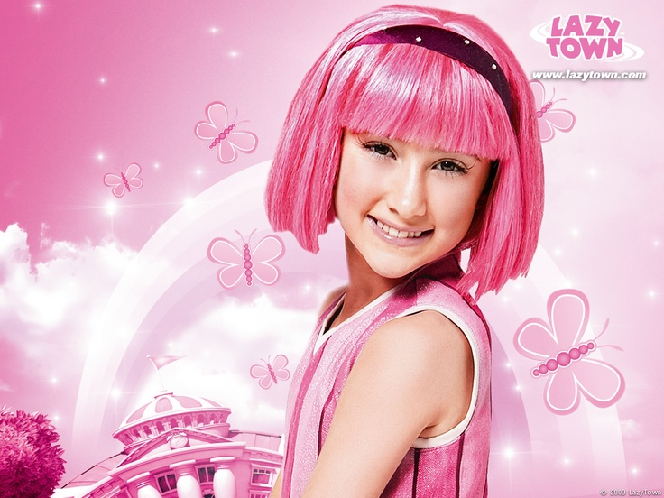 The new stephanie of lazy town nack
