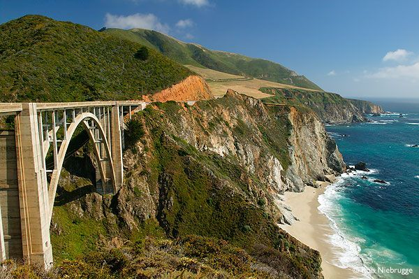 Bixby Canyon Bridge is one of the most beautiful and iconic bridges along Highway 1.