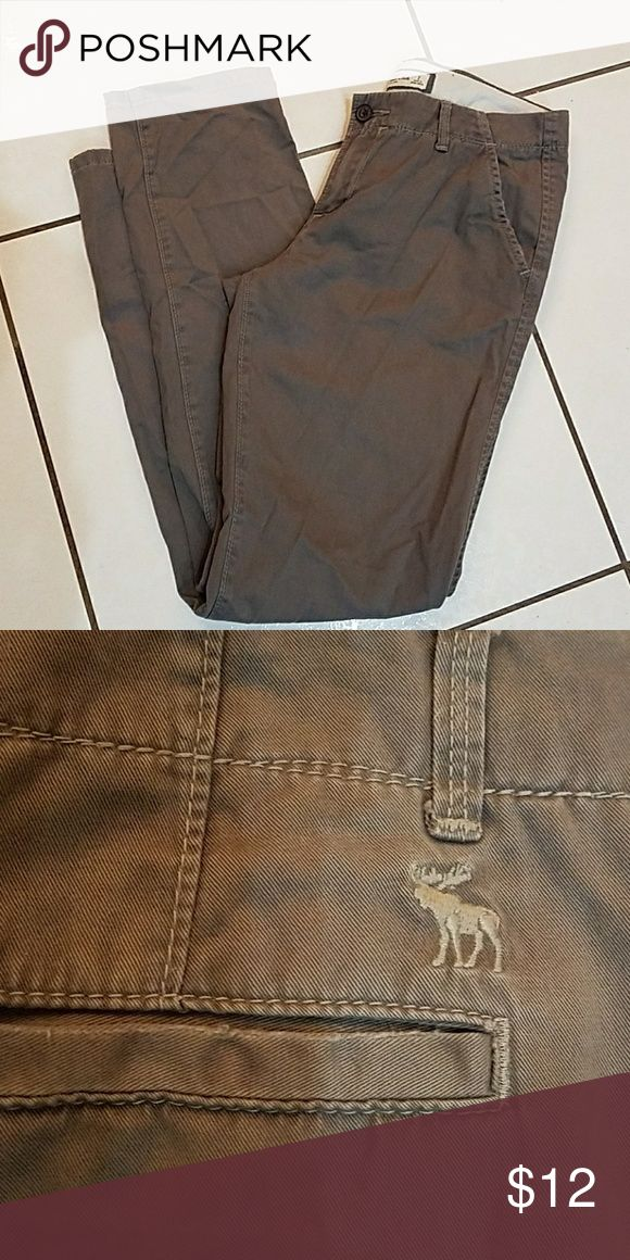 Pants Khaki Abercrombie and Fitch pants Abercrombie & Fitch Pants Trousers