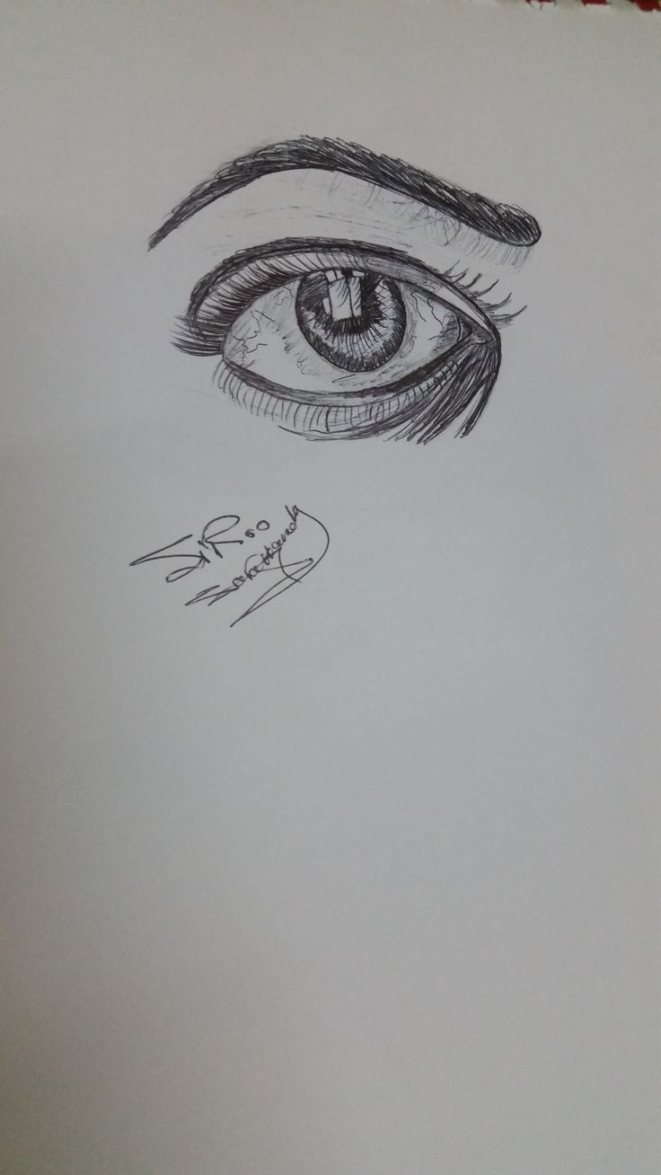 Drawing beautiful eye