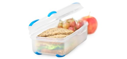 A larger lunchbox for big sandwiches or salad.  You will probably need extra snack containers if you are wanting to pack food for a whole day.