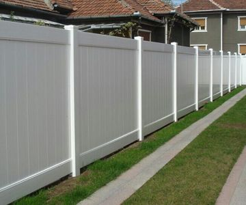 pvc tongue an groove fence in Spain, professional pvc fence panels supplier
