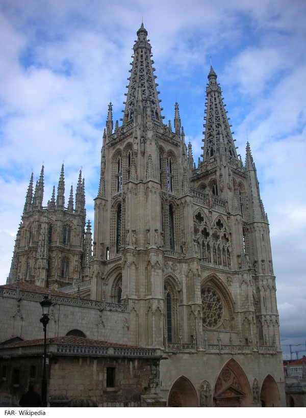 Built during the early 12th century, Burgos Cathedral in Burgos, Spain is famous for its massive size and amazing Gothic architecture. Construction began on the cathedral on the orders of King Ferdinand III of Castile and Mauricio, Bishop of Burgos on July 20, 1221. After a hiatus of nearly 200 years work resumed on the cathedral toward the middle of the 15th century and continued for more than 100 years. It wasn't fully completed until 1567, three years after the death of Michelangelo…