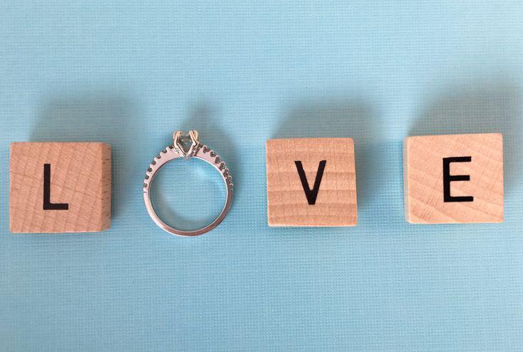 Solitaire, Engagement Ring, Round Diamond, Creative Photo