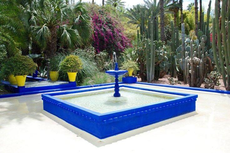 Jardim Majorelle - Marraquexe - Marrocos 2016