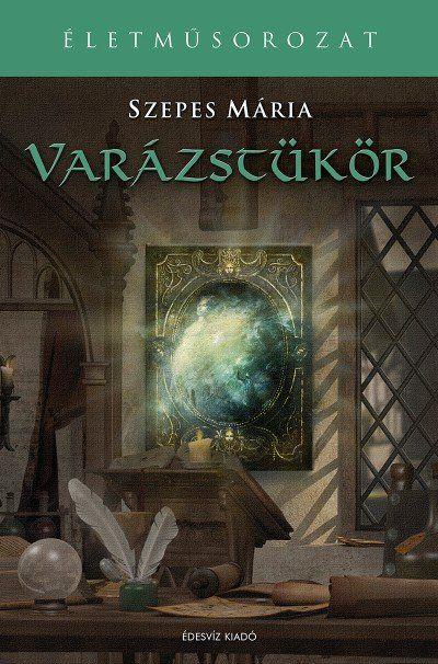 Ismét egy Szepes Mária könyvet szeretnék nektek ajánlani. Nekem nagyon tetszett, remélem nektek is fog! :-) A Varázstükör misztikus regény méltó...