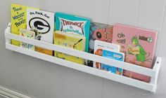 bunk bed book storage - Google Search