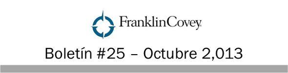 Suscríbase a nuestro boletín semanal, en el cual recibirá interesantes artículos para la grandeza personal, conocerá los próximos eventos y recomendaciones de libros de FranklinCovey.  http://mad.ly/signups/87264/join