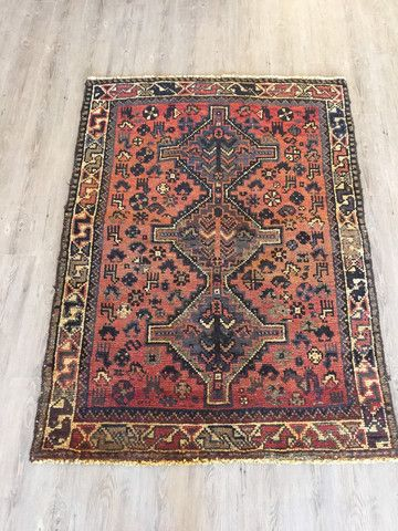 45 X 60 Gorgeous Antique Persian Rug