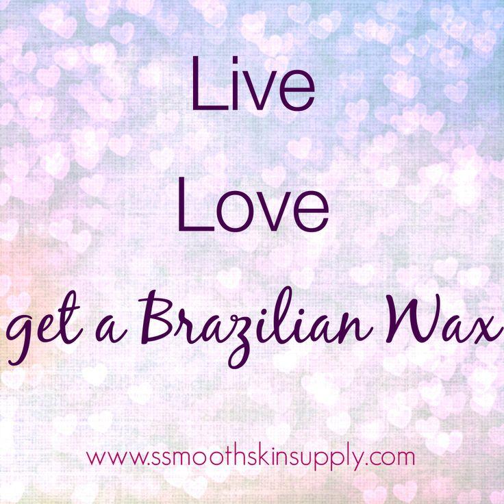 We love brazilian waxing!! #smoothskinsupply #sebrazilwaxes #esthetician