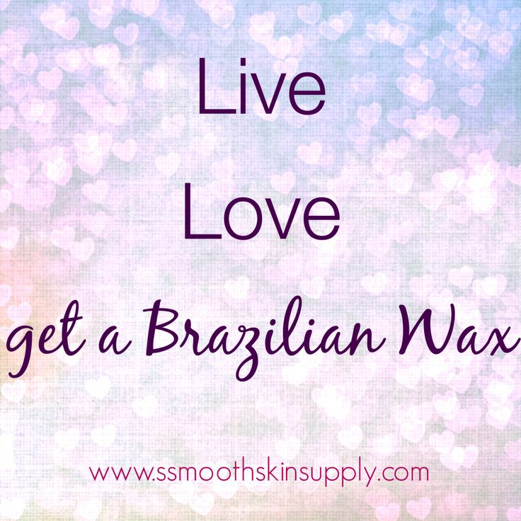 We love brazilian waxing!! #smoothskinsupply #sebrazilwaxes #esthetician