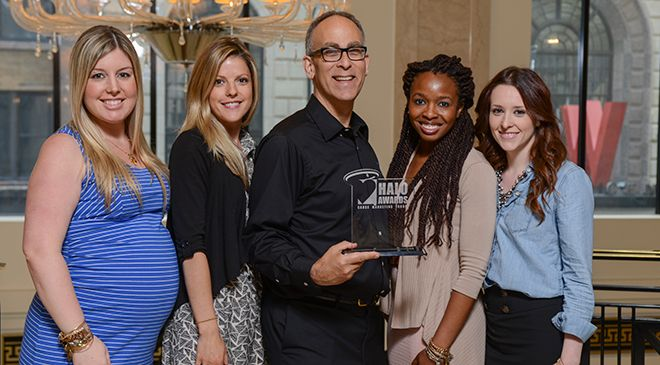 Charity by Design Receives Silver HALO Award for Best Business Model Integration!
