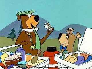 Yogi Bear. Hanna-Barbera  Warner Bros. Entertainment.