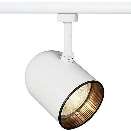 Juno™  Round Back White Track Light