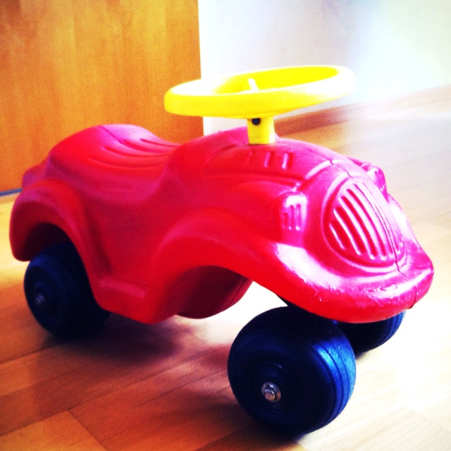 Plasto plastic car from the 80's